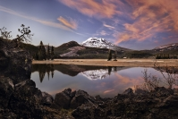 Glen  Parker  Sparks  Lake  Sunset