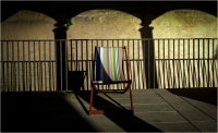 Hans Lignell  Deck Chair With Shadow Credit