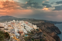 Phil Cargill Santorini Sunset Merit