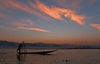 Rosslyn Duncan  Fishing At Sunrise Credit