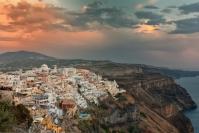 Phil Cargill  Santorini Sunset