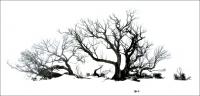 Lloyd Missen  Winter Etching