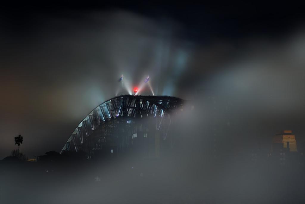 Bruce Kerridge  Bridge In The Mist