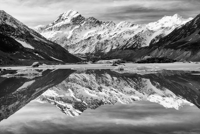 David Ross Hooker Lake Reflections