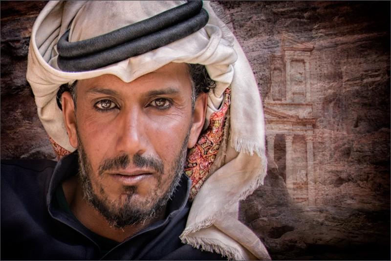 Kian Mak Petra camel man