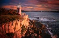 Les Atkins  Hornby Lighthouse