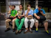 Michael Hing  Subway Travel Boredom
