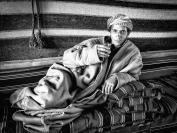 Michael Hing Bedouin Drinking Tea Merit
