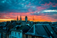 Sunrise in Rouen