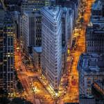 Greg Lake Colour Print Flatiron Building NY