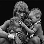 Kerry Boytell Mono Print Family Life