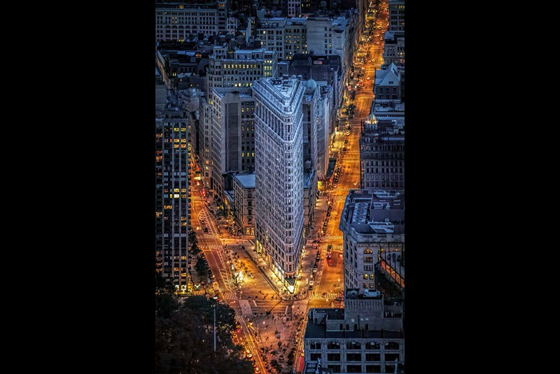 Greg Lake Runnerup Colour Print Flatiron Building NY