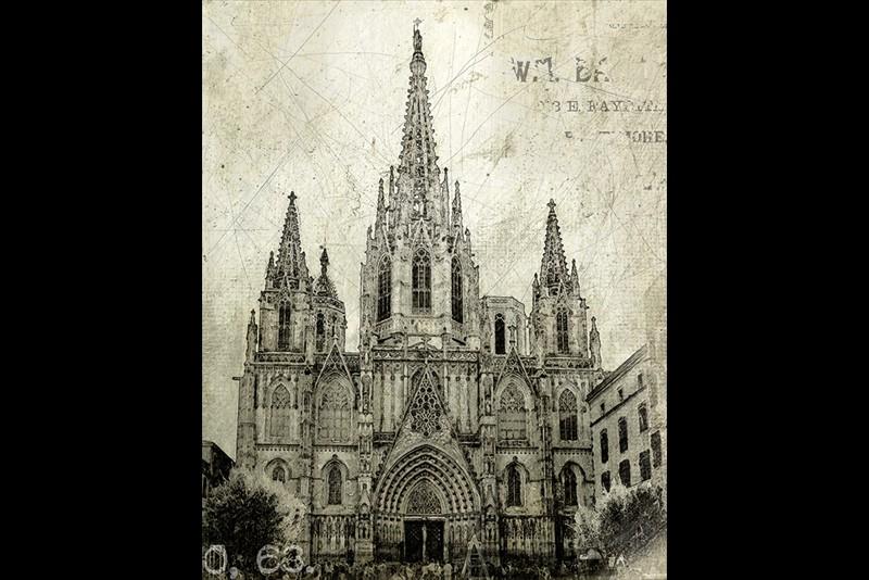 Hemant Kogekar Barcelona Cathedral
