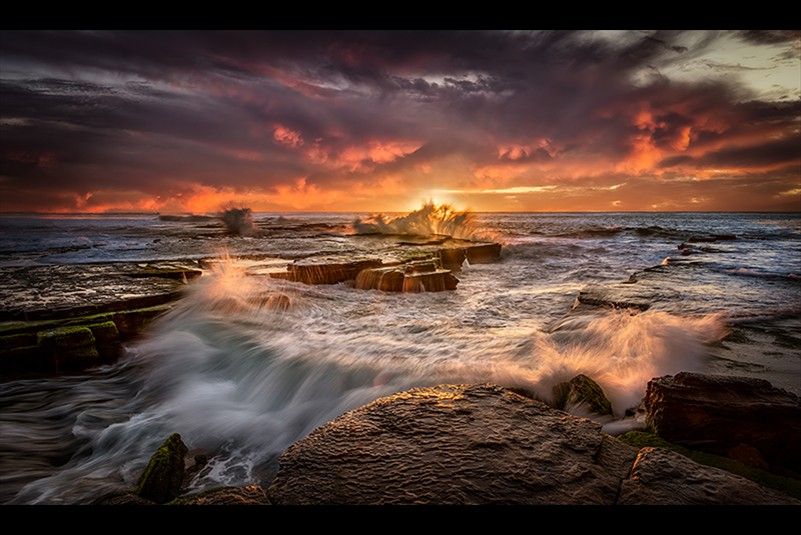 Les Atkins Turimetta Sunrise